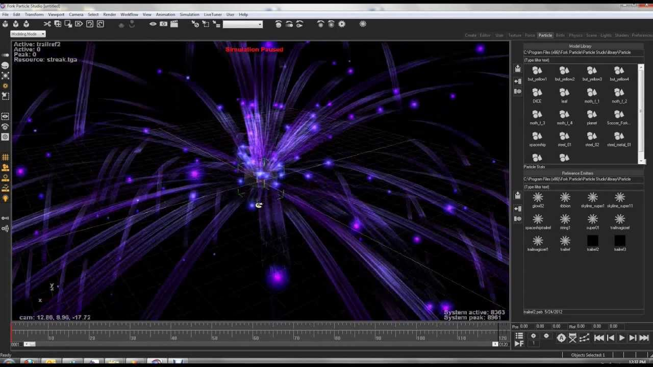 Fork Particle Effects Technology Enhances Its Support With