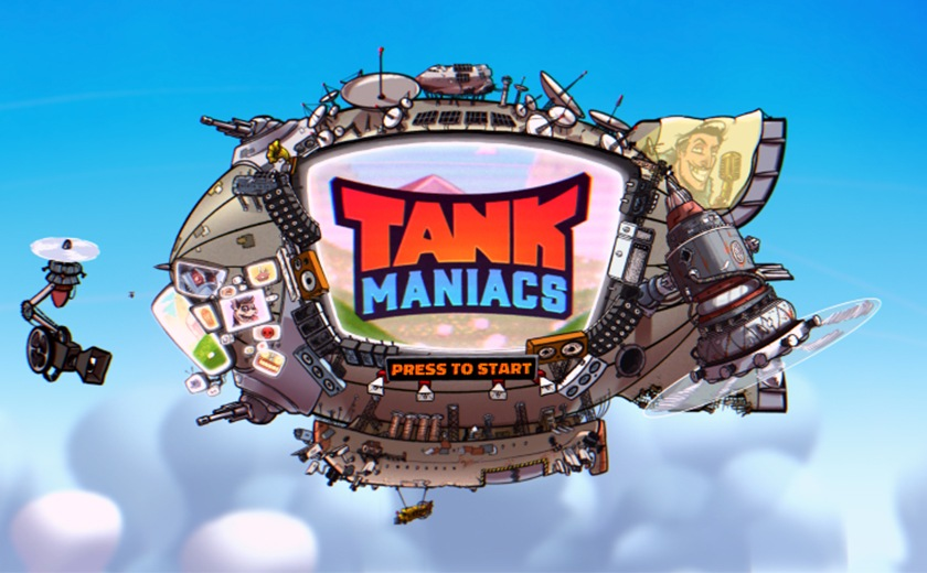Couch party game Tank Maniacs gets a FREE DEMO on Steam