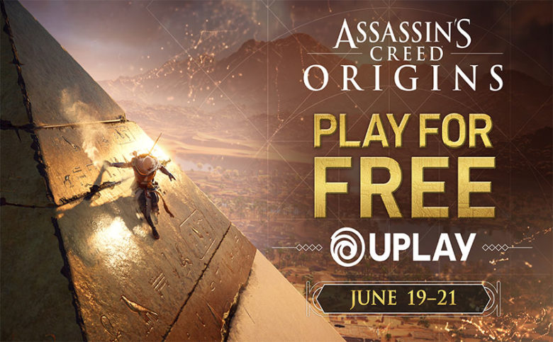 Play Assassin S Creed Origins For Free This Weekend On Uplay