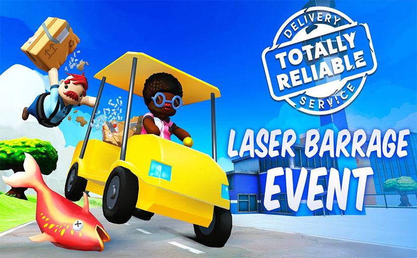 """Totally Reliable Delivery Service - New Event """"Laser ..."""