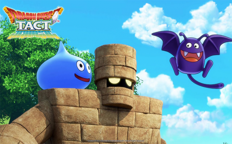 JUMP INTO THE TACTICAL ACTION IN DRAGON QUEST TACT TODAY
