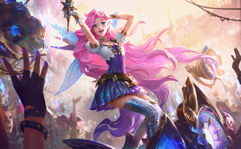 Seraphine will come with Patch 10.22. Abilities and skins revealed