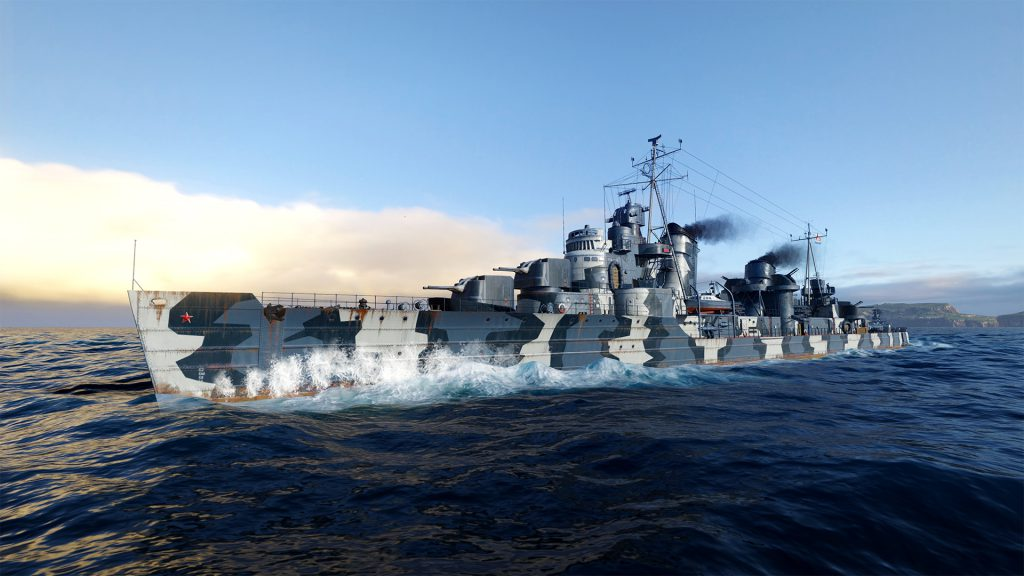 November Brings Massive Update to World of Warships: Legends