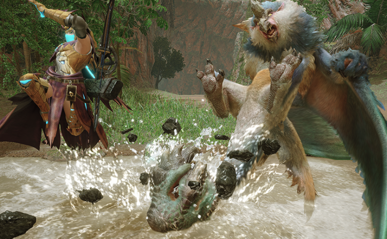 New Monster Hunter Rise Area Is a Flooded Forest