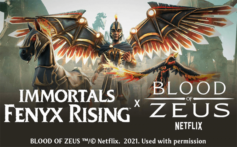 Immortals Fenyx Rising Announced Collaboration With Blood of Zeus