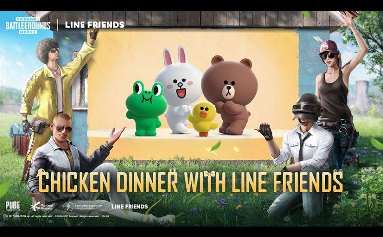 PUBG MOBILE x LINE FRIENDS Collaboration Event Details